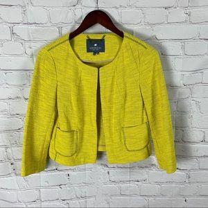 Gryphon cotton and silk yellow blazer